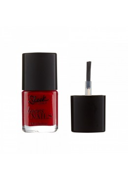 SLEEK MAKEUP LOVES NAILS IN TEXAS RED